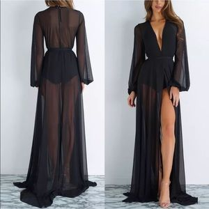Other - Sheer black robe